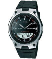 ราคา Casio นาฬิกาข้อมือผู้ชาย Aw 80 1 สีดำ ใหม่ ถูก