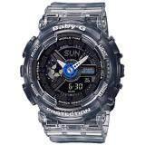 ซื้อ Casio Baby G นาฬิกาข้อมือผู้หญิง สีดำ สายเรซิน รุ่น Ba 110Jm 1Adr Casio Baby G ถูก