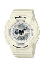 ซื้อ Casio Baby G Ba 110Pp 7A Neobrite Resin Band Women S Watch White ฮ่องกง