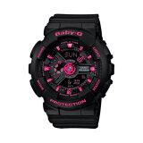 ราคา Casio Baby G นาฬิกาข้อมือผู้หญิง รุ่น Ba 111 1Adr สีดำ ชมพู ออนไลน์ สมุทรปราการ