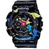 ราคา Casio Baby G นาฬิกาข้อมือผู้หญิง สายเรซิ่น รุ่น Ba 120Spl 1A สีดำ ใหม่ ถูก
