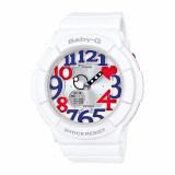 ซื้อ Casio Baby G นาฬิกาข้อมือ รุ่น Bga 130Tr 7Bdr สีขาว White ถูก ใน สมุทรปราการ