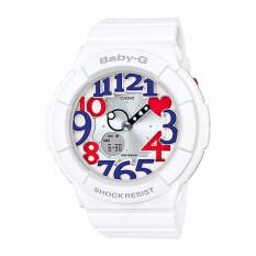 โปรโมชั่น Casio Baby G นาฬิกาข้อมือ รุ่น Bga 130Tr 7Bdr สีขาว White Casio Baby G ใหม่ล่าสุด