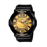 ราคา Casio Baby G นาฬิกาข้อมือผู้หญิง รุ่น Bga 160 1Bdr Black Gold เป็นต้นฉบับ Casio Baby G