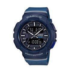 ราคา Casio Baby G นาฬิกาข้อมือผู้หญิง สายเรซิ่น รุ่น Bga 240 2A1 สีน้ำเงิน กรุงเทพมหานคร