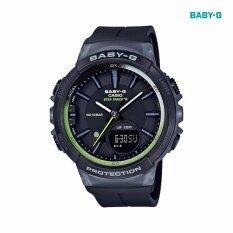 โปรโมชั่น Casio Baby G นาฬิกาข้อมือผู้หญิง สายเรซิ่น รุ่น Bgs 100 1A Casio Baby G