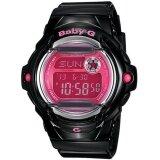 Casio Baby G Black Resin Band Watch Bg 169R 1B Intl เป็นต้นฉบับ