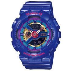 ขาย Casio Baby G นาฬิกาข้อมือหญิง น้ำเงิน สายเรซิ่น รุ่น Ba 112 2Adr ใน กรุงเทพมหานคร