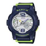 ราคา Casio Baby G นาฬิกาข้อมือผู้ชาย Blue สายเรซิ่น รุ่น Bga 180 2Bdr Casio Baby G เป็นต้นฉบับ