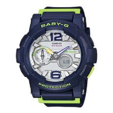 ขาย Casio Baby G นาฬิกาข้อมือผู้ชาย Blue สายเรซิ่น รุ่น Bga 180 2Bdr ใหม่