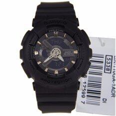 ส่วนลด Casio Baby G นาฬิกาข้อมือผู้หญิง สายเรซิน รุ่น Ba 110Ga 1Adr Black Casio Baby G ใน บุรีรัมย์