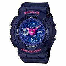 ทบทวน Casio Baby G นาฬิกาข้อมือผู้หญิง สายเรซิ่น รุ่น Ba 110Pp 2A