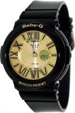 ขาย Casio Baby G นาฬิกาข้อมือผู้หญิง สีดำ สายเรซิ่น รุ่น Bga 160 1Bdr ถูก ใน บุรีรัมย์