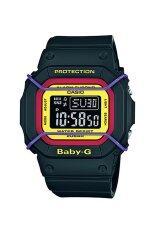 ราคา Casio Baby G นาฬิกาข้อมือผู้หญิง สีดำ สายเรซิ่น รุ่น Bgd 501 1B ถูก