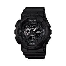 ราคา Casio Baby G นาฬิกาข้อมือ รุ่น Ba 110Bc 1 Black Casio Baby G เป็นต้นฉบับ