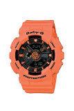 ราคา Casio Baby G นาฬิกาข้อมือ รุ่น Ba 111 4A2 Orange ใหม่ ถูก