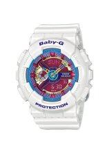 ขาย Casio Baby G นาฬิกาข้อมือ รุ่น Ba 112 7A White Casio Baby G ผู้ค้าส่ง