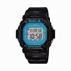 ราคา Casio Baby G นาฬิกาข้อมือ Standard Digital Black Blue Resin Strap รุ่น Bg 5600Gl 1 Casio Baby G เป็นต้นฉบับ