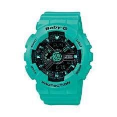 ขาย Casio Baby G นาฬิกาข้อมือสุภาพสตรี รุ่น Ba 111 3A สีเขียว ใน กรุงเทพมหานคร