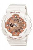 ส่วนลด Casio Baby G Women S White Resin Strap Watch Ba 110 7A1 Casio Baby G ใน สมุทรปราการ