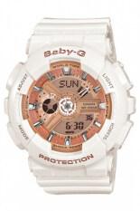 ซื้อ Casio Baby G Women S White Resin Strap Watch Ba 110 7A1