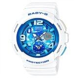 ซื้อ Casio Baby G Women S White Resin Strap Watch Bga 190Gl 7B ออนไลน์