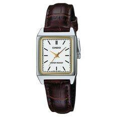 โปรโมชั่น Casio Classic White Dial Watch Ltpv007L 7E2 Intl Casio