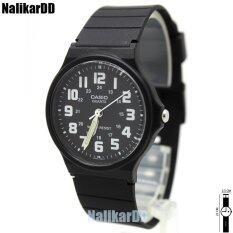 โปรโมชั่น Casio Color นาฬิกาข้อมือผู้ชาย ผู้หญิงและเด็ก สายยางสีดำ ทรงกลม หน้าดำ ตัวเลขสี ระบบเข็ม กรุงเทพมหานคร