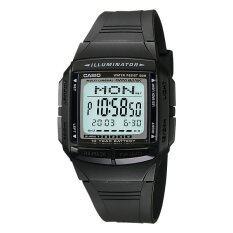 ขาย Casio Data Bank นาฬิกาข้อมือ รุ่น Db 36 1A Black ราคาถูกที่สุด