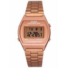 ส่วนลด นาฬิกา Casio Digital B640Wc 5Adf สีทอง Pinkgold ประกัน Cmg Casio ใน กรุงเทพมหานคร
