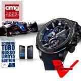 ราคา Casio Edifice Scuderia Toro Rosso รุ่นที่ 4 ประกัน Cmg ศูนย์เซ็นทรัล1 นาฬิกาข้อมือผู้ชาย ลิมิเต็ดเอดิชัน รุ่น Eqb 800Tr 1A ใหม่