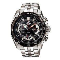 ทบทวน ที่สุด Casio นาฬิกา Edifice Chronograph สีดำ Ef 550D 1Avdf