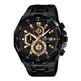 ราคา Casio Edifice นาฬิกาข้อมือผู้ชาย Chronograph รุ่น Efr 539Bk 1Av สีดำ ใหม่