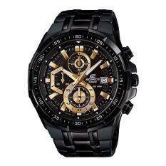 ราคา Casio Edifice นาฬิกาข้อมือผู้ชาย Chronograph รุ่น Efr 539Bk 1Av สีดำ ออนไลน์ Thailand