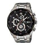 ส่วนลด Casio Edifice นาฬิกาข้อมือผู้ชาย Chronograph รุ่น Efr 539D 1Avudf สีดำเงิน Casio Edifice Thailand