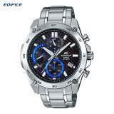 ราคา Casio Edifice Chronograph นาฬิกาข้อมือผู้ชาย รุ่น Efr 557Cd 1Av เป็นต้นฉบับ