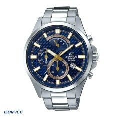 ซื้อ นาฬิกาข้อมือผู้ชาย Casio Edifice Chronograph สายสแตนเลส รุ่น Efv 530D 2A ถูก สงขลา