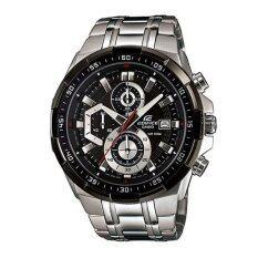 ซื้อ Casio Edifice Chronograph นาฬิกาข้อมือผู้ชาย สายสแตนเลสสตีล Efr 539D 1Avudf Siver ถูก ใน Thailand