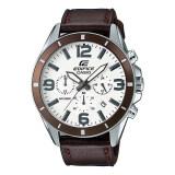 ขาย Casio Edifice Chronograph นาฬิกาข้อมือผู้ชาย สีดำ สายหนัง รุ่น Efr 553L 7B Casio Edifice