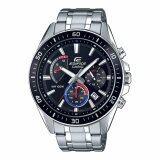 ขาย Casio Edifice Chronograph นาฬิกาข้อมือผู้ชาย สีดำ สายสแตนเลส รุ่น Efr 552D 1A3 ถูก