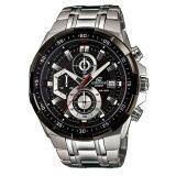 ขาย Casio Edifice Chronograph นาฬิกาข้อมือผู้ชาย สีเงิน สายสแตนเลสสตีล รุ่น Efr 539D 1Avudf ผู้ค้าส่ง