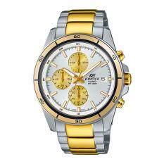 ขาย Casio Edifice Chronographนาฬิกาข้อมือชาย สายสแตนเลสEfr 526Sg 7A9 Gold ออนไลน์ ใน Thailand