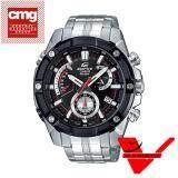 Casio Edifice นาฬิกาข้อมือผู้ชาย สายสแตนเลส ประกัน Cmg ศูนย์เซ็นทรัล1 รุ่น Efr 559Db 1Av ใหม่ล่าสุด