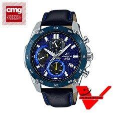 ราคา Casio Edifice นาฬิกาข้อมือผู้ชาย สายหนังแท้ ประกัน Cmg ศูนย์เซ็นทรัล1 รุ่น Efv 557Bl 2Av ใหม่ ถูก