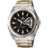 ราคา Casio Edifice นาฬิกาข้อมือผู้ชาย สองกษัตริย์ สายแสตนเลส รุ่น Ef 129Sg 1A ใน กรุงเทพมหานคร