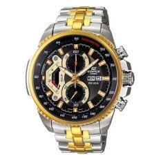 ส่วนลด สินค้า Casio Edifice นาฬิกาข้อมือชาย รุ่น Ef 558Sg 1Avdf Silver Gold