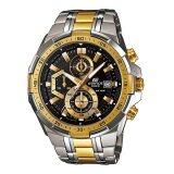 ราคา Casio Edifice นาฬิกาข้อมือ รุ่น Efr 539Sg 1Avudf สีดำทอง เป็นต้นฉบับ Casio Edifice