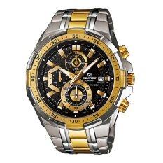 ส่วนลด Casio Edifice นาฬิกาข้อมือ รุ่น Efr 539Sg 1Avudf สีดำทอง Casio Edifice