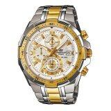 ขาย Casio Edifice นาฬิกาข้อมือ รุ่น Efr 539Sg 7Avudf สีขาวทอง ถูก Thailand