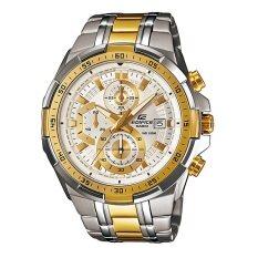 โปรโมชั่น Casio Edifice นาฬิกาข้อมือ รุ่น Efr 539Sg 7Avudf สีขาวทอง Casio Edifice ใหม่ล่าสุด